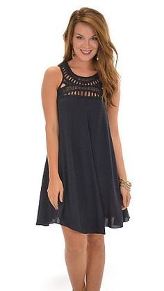 This dress makes it easy to get dressed in a snap... and STILL look cute! $42 at shopbluedoor.com!