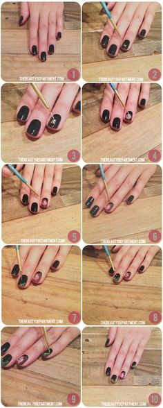 28 Nail Tutorials Best Ideas For This Summer, Needle Point Nails