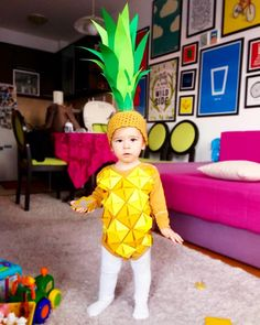 Inspiration & Accessories: DIY Pineapple Halloween Costume Idea