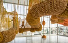 'Madness is Part of Life' exhibition at Espace Louis Vuitton Tokyo – the prodigious work of renowned Brazilian artist Ernesto Neto and his protegé Evandro Machado