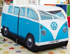 VW Camper Van Pop Up Tent - Great Little Trading Co - Crumbs and Petals Christmas Wishlist toys for girls and boys