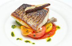 How to pan-fry sea bass