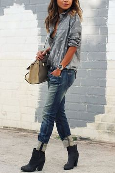 78655f20a0d4 How to Wear Ankle Boots with Jeans