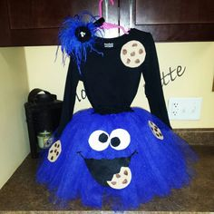 Cookie Monster DIY Costume