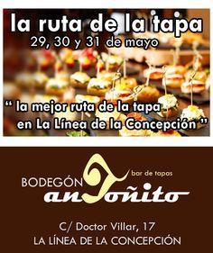 #RutadelaTapa #LaLineadelaConcepcion #BodegonAntoñito #EmpanaCriolla #EventoGastronomico #CampodeGibraltar