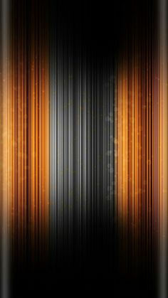 Orange and Black Gradient Wallpaper