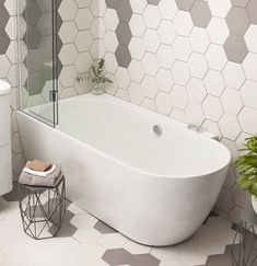 Small Bathroom Projects: How can designers create a luxury look in a confined bathroom space? Philippa Turrell poses the question… – small Bathtub Shower Combo, Shower Over Bath, Bathroom Tub Shower, Small Bathroom With Shower, Laundry In Bathroom, Bathroom Renos, Bathroom Layout, Bathroom Interior Design, Modern Bathroom