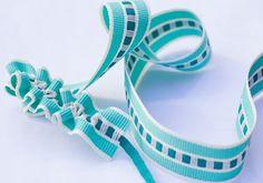 22MM TURQUOISE / LIGHT CREAM STRIPE http://www.myinspiredplace.com/product/22mm-ribbon-turquoise-light-cream-stripe/