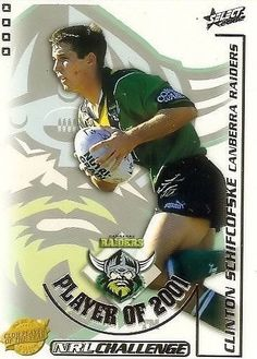 FLASHBACK: Canberra Raiders 2001 Player of the Year, Clinton Schifcofske.