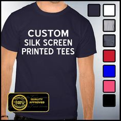 1000 images about screen printing on pinterest screen for Custom silk screen shirts