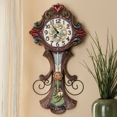 Everything In Its Own Time-Masterpiece Wall Clock