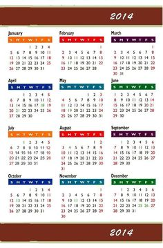 Calendar 2014 Only Printable Yearly | 2014 icc world twenty20 championship to be held in bangladesh the 2014 ...