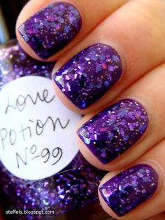 Love Potion No. 99 by Lynnderella  This is the photo that started my love for Lynnderella polish!