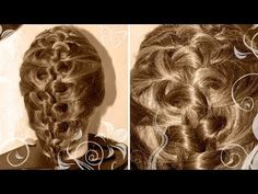 Коса из 5 прядей - Hairstyles by REM - YouTube