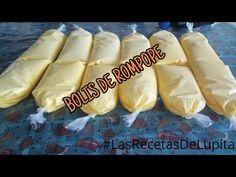 BOLIS DE ROMPOPE/LAS RECETAS DE LUPITA - YouTube