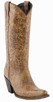Lucchese Since 1883 Autumn Dry Leaf Cowgirl Boots M5711