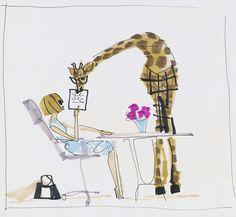 Skirt PR illustration - Donald Robertson (Donald Drawbertson)