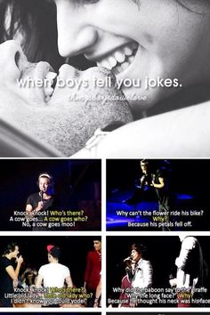 Those are literally the worst jokes I have ever heard...But I'm laughing so hard