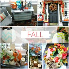 Fall Inspiration you will love - Decorating, Recipes and More