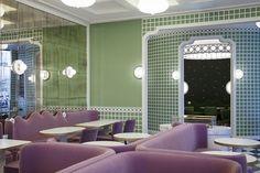 Nova loja da Ladurée tem projeto de India Mahdavi (Foto: Divulgação)