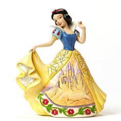 Figurine Blanche Neige en Robe de Bal - Château - Disney Traditions Jim Shore