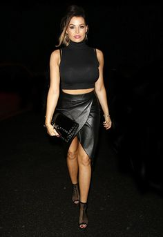 Single:Jess Wright embarked on a charm offensive when she stepped out in Essex wearing a ...