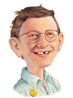 Bill Gates < 345° NL fm (ident) https://de.pinterest.com/ceestimmer/caricatures-3/