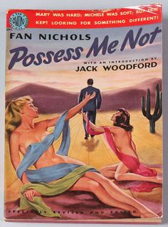 Great 1951 Avon Books Pulp Risqué Paperback Vintage Possess Me Not Pin Up Cover