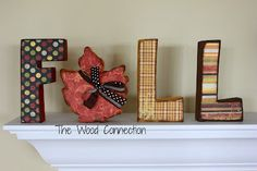 The Wood Connection: Fall sign