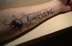Evanescence tattoo