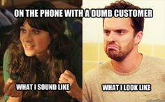 New Girl with a Customer memes Lol, Haha Funny, Hilarious, Funny Stuff, Funny Things, Tandem, Devon, Just For Laughs, Just For You