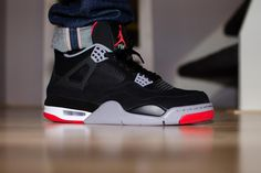 Sweetsoles – Nike Air Jordan IV Retro 'Bred' (by Unearth)