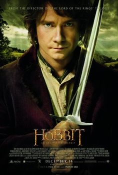 The Hobbit: An Unexpected Journey (2012). With Martin Freeman, Ian McKellen, Richard Armitage. Written by Fran Walsh, Philippa Boyens, Peter Jackson, Guillermo del Toro and J.R.R. Tolkien. Directed by Peter Jackson.