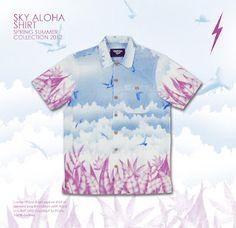 Lightning Bolt Spring Summer 2012 - Sky Aloha Shirt