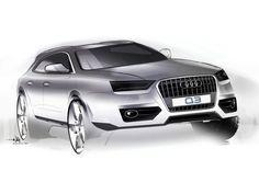 Audi Q3 Design Sketch