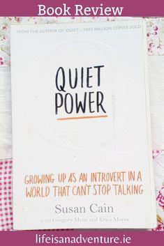 Quiet power. Susan Cain. book review. self-help. introvert. book blog.