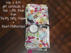 Thrifty Nifty Mommy: Your Little Bean Handmade Baby Items #FALLingForBaby