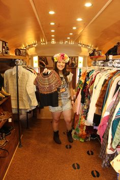 Vintage & western finds on the 40th Anniversary Airstream in Eugene