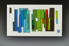 Fused glass panel by the very talented Morgan Madison