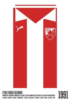 Home Kit …by Slip Football Art, World Football, Football Jerseys, Football Players, Football Stuff, Coupe Des Clubs Champions, Skull Wallpaper Iphone, Red Star Belgrade, Christmas Centerpieces