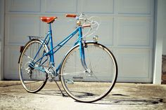 1980's Peugeot Porteur-style Mixte,  finished extremely well.