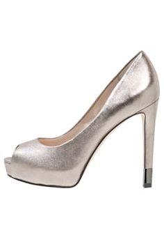 Guess - HADIE 5 - Peep-toes - dark silver