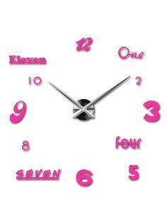 3D ceas de perete color în camera de zi - IRIS, culoare: roz Referinta  12S007-RAL4003-S-COLOR** Conditie:  Produs nou  Disponibilitate:  In Stock  Alege o culoare de unul singur! Timpul a venit mult mai confortabil REALIT ceas nou. 3D Ceas de perete mare este un decor frumos al interiorului. Nu vei fi niciodată târziu.