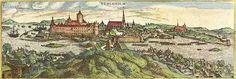 En el año 1648, al final de la Guerra de los Treinta Años (1618-1648), el Codex Gigas fue tomada como botín de guerra por las tropas del general sueco Konigsmark, junto a otros objetos de arte de la célebre habitación Kunstkammer de Prague del emperador Rodolfo II de Habsburgo, entrando en la colección de la Reina Cristina de Suecia y guardado en la biblioteca real en el castillo de Estocolmo.