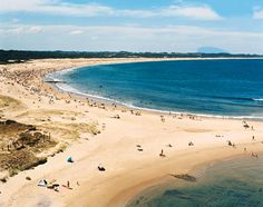 "JOSE IGNACIO, URUGUAY  Half an hour from Punta del Este, José Ignacio looks like a boho-style beach shack of a village, but it's where the fabulous come for South American R&R. The Playa Mensa (""tame beach"") is sheltered from the ocean winds, so the surf's calm and paddle-friendly"