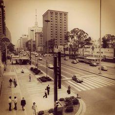 Paulista Avenue (Sao Paulo - Brazil) in 1976.