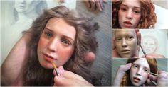 """Michael Zajkov é um artista russo tão talentoso, que as suas bonecas realistas - feitas com argila plástica - poderiam ganhar vida e protagonizar um filme de terror. Com os seus olhares profundos e feições humanas, algumas delas chegam a ser assustadoras! Michael formou-se em Artes Gráficas com ênfase em escultura, na """"Kuban State University of Russia"""". A primeira boneca feita pelo artista """"nasceu"""" em 2010, com inspiração nos trabalhos de Laura Scattolini e Rotraut Schrot..."""
