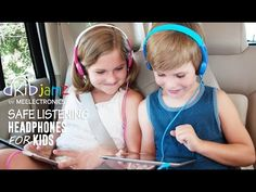 MEElectronics KidJamz Safe Listening Headphones for Kids with Volume-Limiting Technology