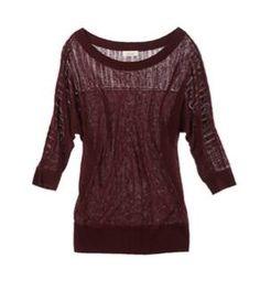 Aerie Peek-A-Boo Dolman Sweater... Love the colour