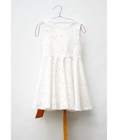 Motoreta Dress Vega white confetti